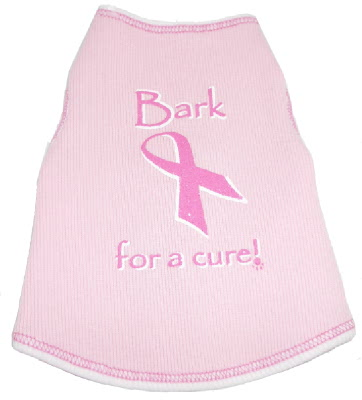 BARK FOR A CURE! Pink