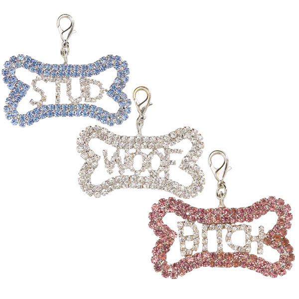 Aria Bling Bone Charms