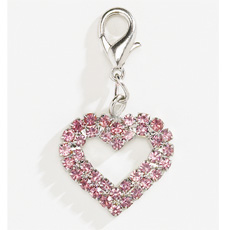 Aria Rhinestone Sweetheart Collar Charms