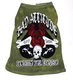 Bad Attitude Green Tank-Bad Attitude Green Tank