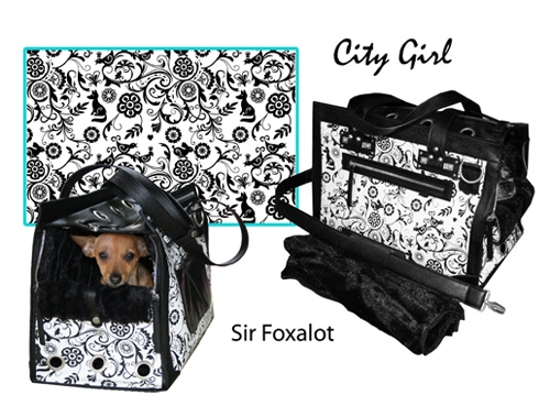 City Girl Tote - Sir Foxalot