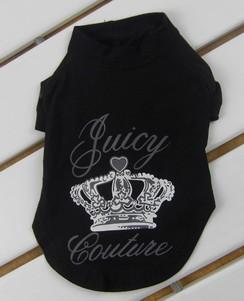 Crown Juicy Shirt in Black