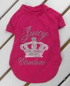 Crown Juicy Tee in Rose