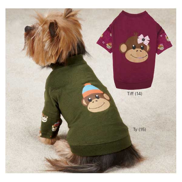 ESC Monkey Business Mock Dog Tees