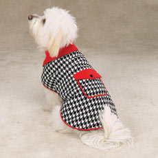 East Side Collection Reversible Houndstooth Coats
