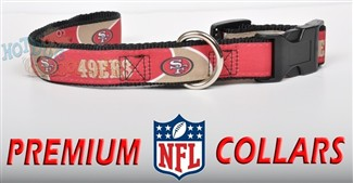 San Francisco 49ers Premium Pet Collar