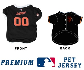 San Francisco Giants PREMIUM MLB Pet JERSEY
