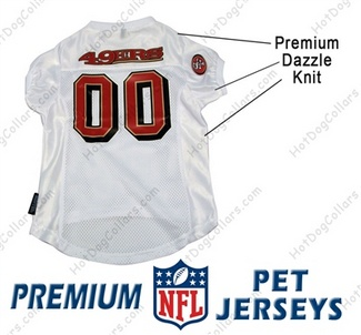 San Francisco 49ers PREMIUM NFL Football Pet Jersey