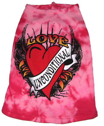 Love Unconditional Pink Tank-Love Unconditional Pink Tank