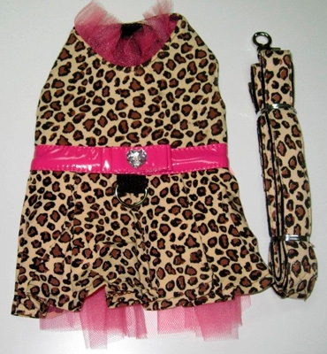 Leopard Harness Dress