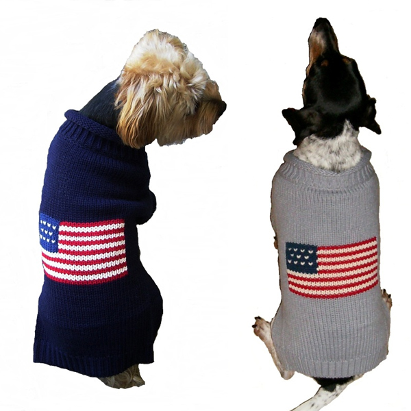 Patriotic Pup Sweater