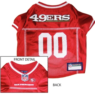 San Francisco 49ers Dog Jersey - Alternate Style