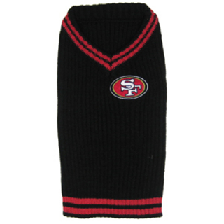 San Francisco 49ers Dog Sweater