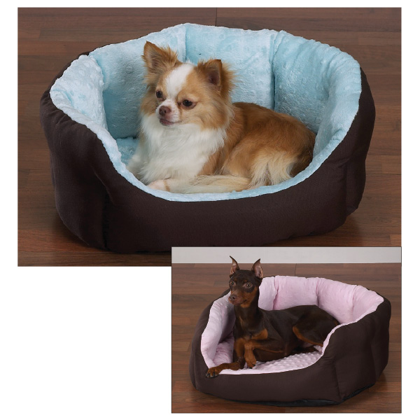 Slumber Pet Dimple Plush Nesting Beds for Dogs