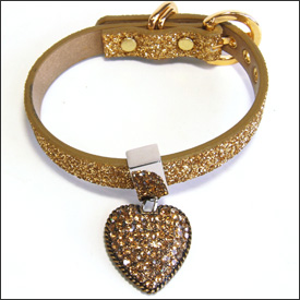 Twinkle Collar Heart of Gold