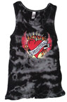 Love Unconditional Black Adult Tank