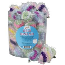 Zanies Knitted Sparkle Balls Canister
