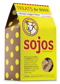 Sojos Chicken Veggie Dog Treats